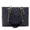 CHANELºÚɫţƤÁâÎÆGrand Shopping Tote¾µäÁ´Ìõ°ü ½ðÁ´