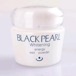 黑珍珠美白能量湿粉