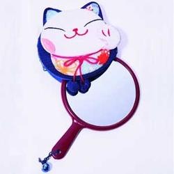 【其他】日本招财猫化妆镜