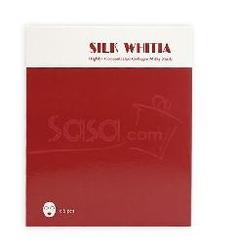 SILK WHITIA高效牛奶蛋白面膜