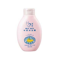 鳄鱼宝宝牛奶沐浴露