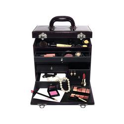 芭比波朗瑰丽紫晶豪华化妆箱(全新2009圣诞限量版)