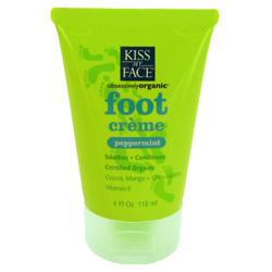 KISS MY FACE可可奶乳木果油薄荷足霜