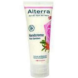 Alterra玫瑰沙棘精华护手霜