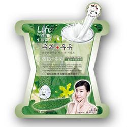 生活涵美祛痘净白补湿面膜苦瓜+牛奶