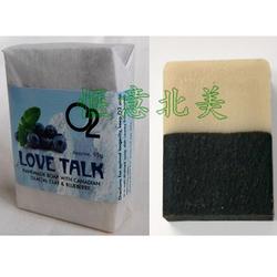 O2极品冰川泥有机蓝莓全效二合一手工皂