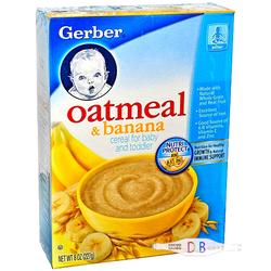 嘉宝香蕉燕麦米粉