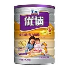 圣元优博幼儿成长配方奶粉3段