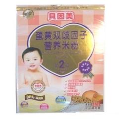 贝因美蛋黄双歧因子营养米粉