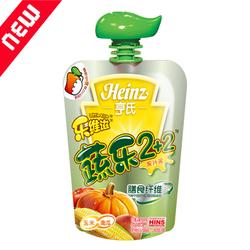 亨氏蔬乐2+2果汁泥