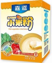 嘉滋鱼肉蔬菜小米粉