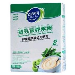 滋儿乐2段鲜果蔬菜初乳营养米粉