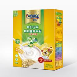 英氏有机玉米粗粮营养米粉3段