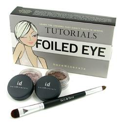 贝茗自然矿物眼妆套装: 眼影粉 0.57g + 亮彩眼影粉 0.57g + 双头眼刷