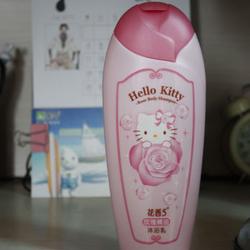 Hello Kitty花香5玫瑰精油沐浴乳