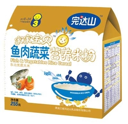 完达山鱼肉蔬菜营养米粉