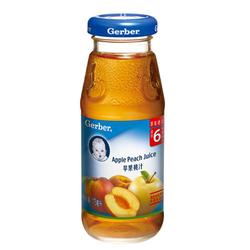 嘉宝苹果桃汁