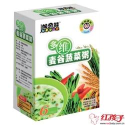 加贝能高钙麦谷蔬菜粥