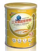 喜安智三文鱼蔬菜米粉