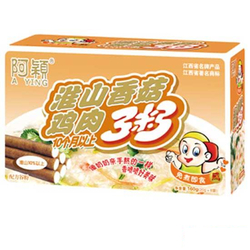 【其他】阿颖淮山香菇鸡肉粥