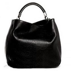 YSL圣罗兰黑色超大HOBO手提包