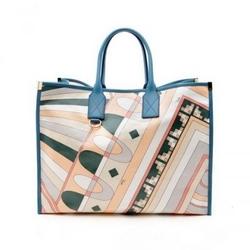 璞琪09春夏系列印花手提包