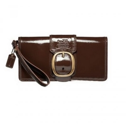 蔻驰Bleecker专利皮革手提包
