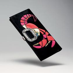 罗杰・维威耶2011春夏草编手提包-树脂虾形图案