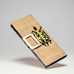 罗杰・维威耶2011春夏草�手提包-树脂龟形图案