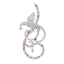 梵克雅宝VanCleef&ArpelsOiseaux de Paradis珍爱之鸟-胸针