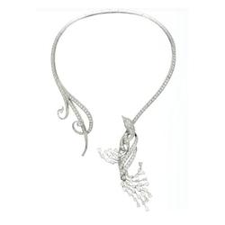梵克雅宝VanCleef&Arpels项链及可拆除式小鸟造型胸针