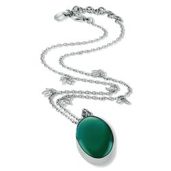 Swatch月光宝石碧玺绿项链
