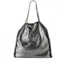 斯特拉麦卡托尼烟灰色Falabella亮片镶嵌时尚肩包 (2011新款)