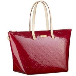 Louis Vuitton红色BELLEVUE GM经典压花图案手提包