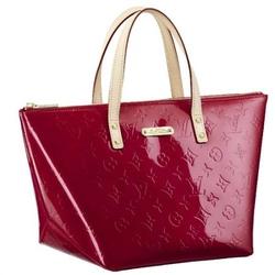Louis Vuitton红色BELLEVUE PM经典压花图案手提包