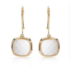 FPJfpj正品  高质量14K黄金6.00克拉总重100%纯正玛瑙耳环