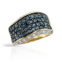 fpj正品  高质量10K黄金1.65克拉总重100%纯天然钻石戒指