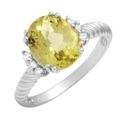 fpj正品  18K白金2.80克拉总重100%纯正石英戒指