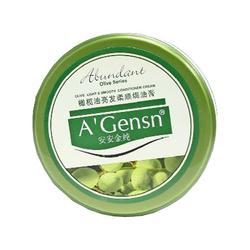 安安金纯橄榄油亮发柔顺�h油膏