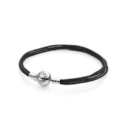潘多拉珠宝织物绳手链