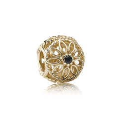 潘多拉珠宝镂空金坠