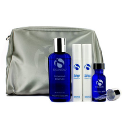 医洛维�qTravel Kit: Cleansing Complex 60ml + Hydra-Cool Serum + 2x Eclipse SPF50+ 10g + Bag