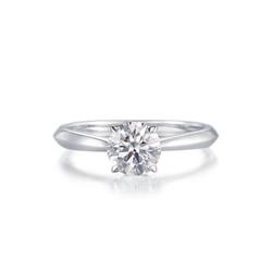 周生生INFINI LOVE「全爱钻」 安特卫普钻石博物馆系列戒指