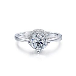 周生生DIAMOND IN MOTION「炫动钻饰」 钻石戒指