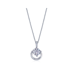 周生生DIAMOND IN MOTION「炫动钻饰」钻石吊坠