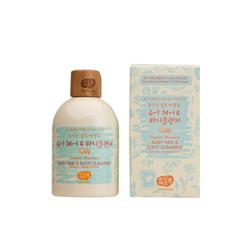 花美四WHAMISA有机发酵芦荟幼儿头发及身体清洁液