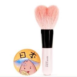 晃祐堂Collection系列化妆刷 粉色 H014心形蜜粉刷