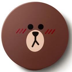 谜尚Line Friends布朗熊限量气垫腮红