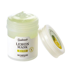 思亲肤清鲜果萃面膜-柠檬