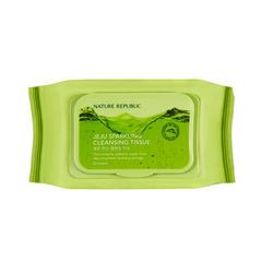 自然乐园济州碳酸卸妆湿巾